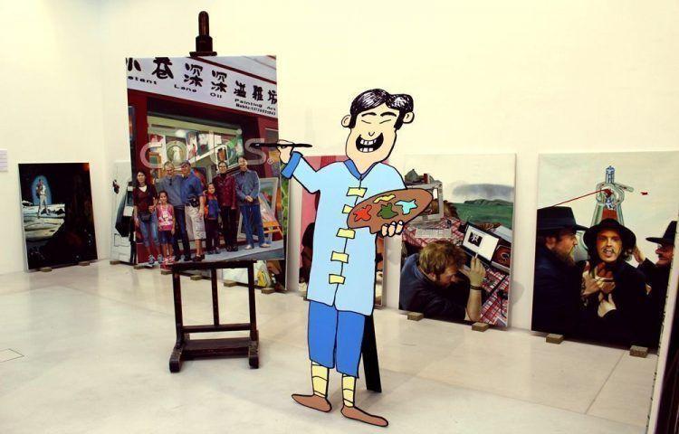 monochrom, Kunstraum im Osten, Installationsansicht im MUSA 2013, Foto: Alexandra Matzner © monochrom.