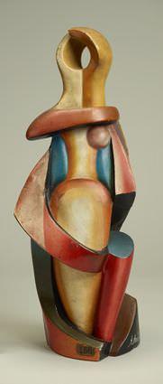 Alexander Archipenko, Ohne Titel, 1916-1917, Foto: Museum Folkwang, Jens Nober.