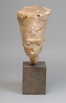 Kopf der Nofretete, Amenophis IV./Echnaton, Foto: Museum Folkwang, Jens Nober.