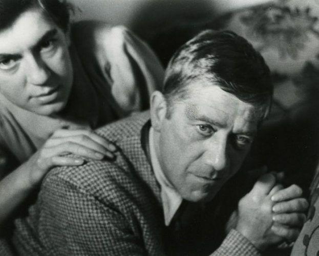 Trude Fleischmann, Oskar Kokoschka und Olda Palkovska, London 1939 © Universität für angewandte Kunst Wien, Oskar Kokoschka-Zentrum