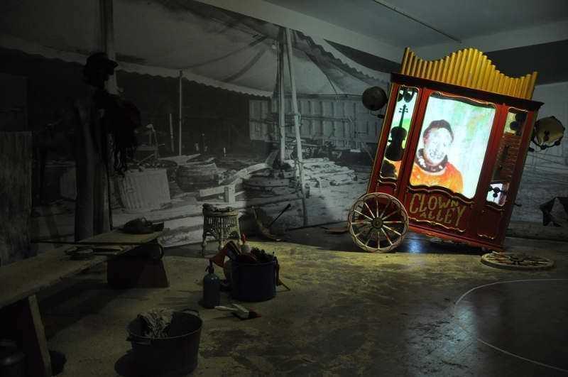 Ausstellungsansicht, Kunsthalle Wien 2012, Foto: Alexandra Matzner © Clifton Childree.