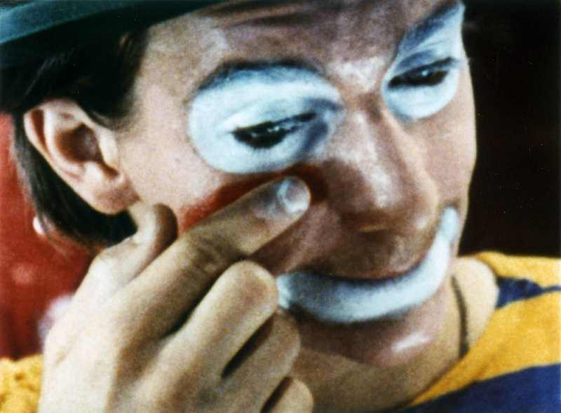Charles and Ray Eames, Clown Face, 1971 © Eames Office, Courtesy Eames Office.