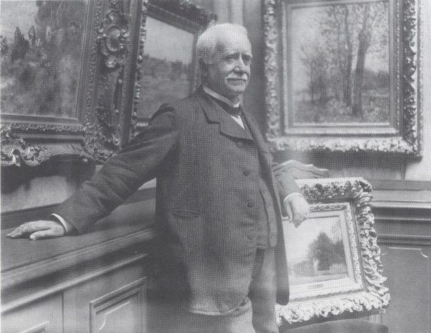 Paul Durand-Ruel in seiner Galerie, Fotografie von Dornac, um 1910, Archives Durand-Ruel © Durand-Ruel & Cie