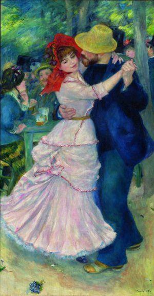 Pierre-Auguste Renoir, Tanz in Bougival, 1883, Öl auf Leinwand, 181,9 x 98,1 cm, Boston, Museum of Fine Arts © Museum of Fine Arts, Boston.