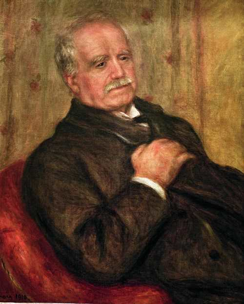 Pierre-Auguste Renoir, Paul Durand-Ruel, 1910, Öl auf Leinwand, 65 x 54 cm, Sammlung Durand-Ruel © Durand-Ruel & Cie.