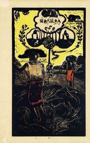 Paul Gauguin, Noa Noa, Noa Noa (Duftend), 1893–1894.