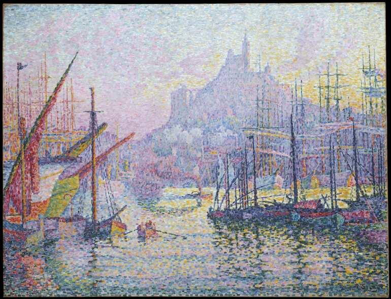 Paul Signac, Notre-Dame-de-la-Garde (La Bonne-Mère), Marseilles, 1905/06, 88,9 x 116,2 cm (The Metropolitan Museum, New York, Gift of Robert Lehman, 1955)