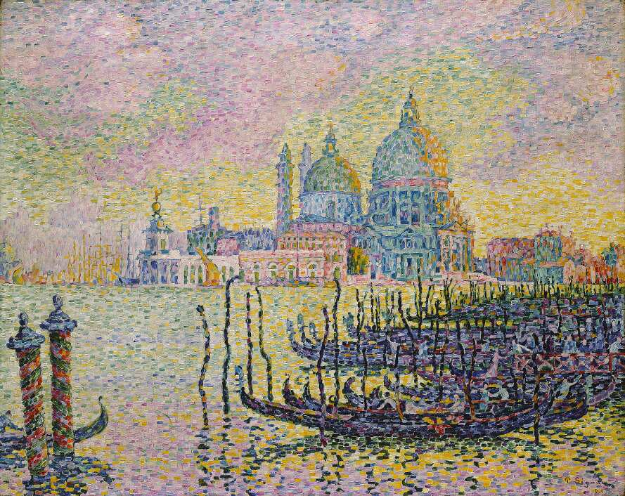 Paul Signac, Canal Grande (Venedig), 1905, Öl auf Leinwand, 73.5 x 92.1 cm (Toledo Museum of Art, Purchased with funds from the Libbey Endowment, Gift of Edward Drummond Libbey)