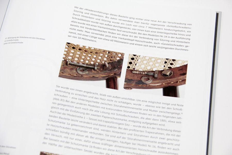 Wolfgang Thillmann, Perfektes Design - Thonet Nr. 14: Verschraubung (Kerber Verlag).