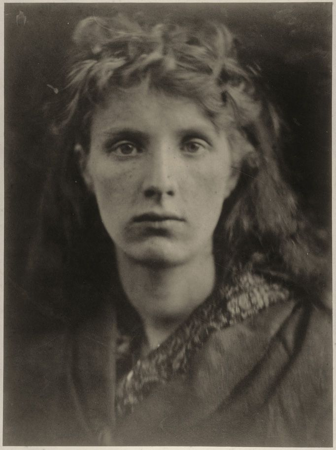 Julia Margaret Cameron, The Mountain Nymph, Sweet Liberty, June 1866, albumen print from collodion negative, 36.1 x 26.7 cm (14 3/16 x 10 1/2 in.), National Gallery of Art, Washington, New Century Fund.