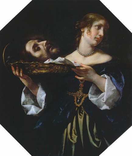 Carlo Dolci, Die Tochter der Herodias, undatiert, Öl auf Leinwand, 95,5 x 80,5 cm © Gemäldegalerie Alte Meister, Staatliche Kunstsammlungen Dresden.