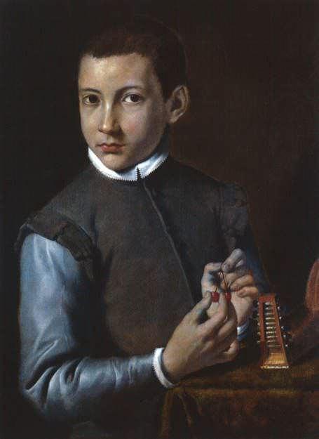 Agostino Carracci, Bildnis eines Knaben, um 1590, Öl auf Leinwand, 65 x 48,5 cm © Gemäldegalerie Alte Meister, Dresden.