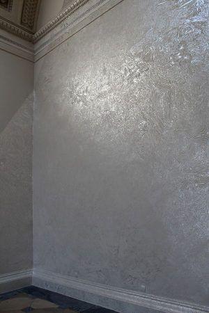 Richard Wright, No title, Blick in eine Ecke, temporäre Wandzeichnung im Theseustempel, Wien, 2013, Foto: Alexandra Matzner (fotografiert am 16.4.2013, 10-11 Uhr)