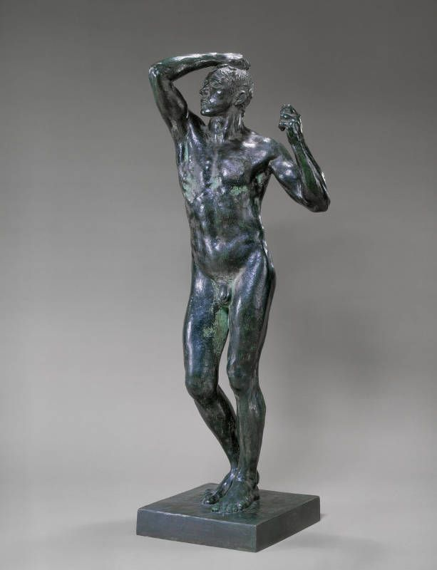 Auguste Rodin, Das Bronzezeitalter, 1875/76, 104,1 x 35 cm (National Gallery of Art, Washington DC)