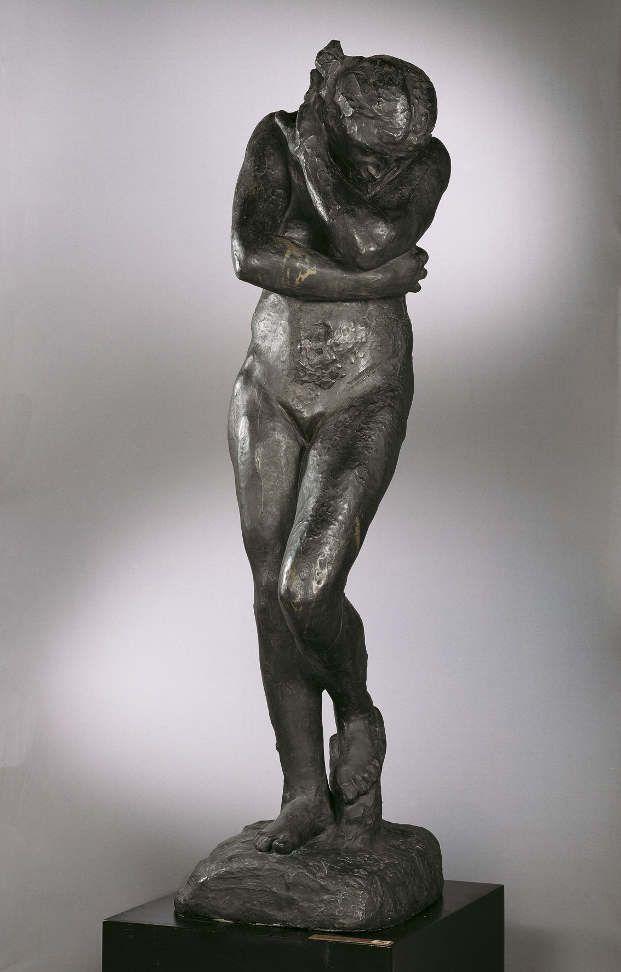 Auguste Rodin, Eva, 1881, Belvedere, Wien.