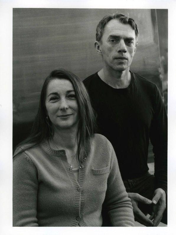 Portrait Rosa Loy und Neo Rauch, Foto: Barbara Klemm.