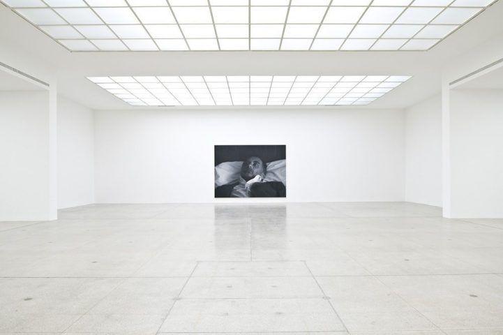 Rudolf Stingel, Untitled (After Sam) © Einblick in die Wiener Secession 2012, Foto: Jorit Aust.