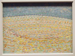 Piet Mondrian, Düne III, 1909, Öl auf Leinwand, 29,5 × 39 cm (Gemeentemuseum, Den Haag)