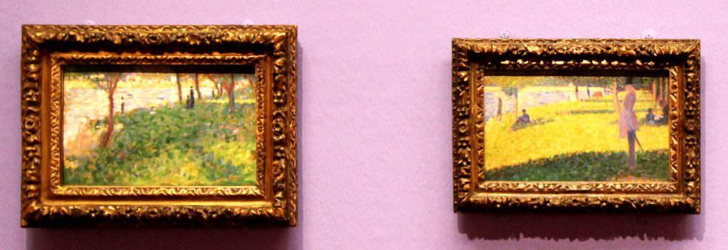 Georges Seurat, Studien zur Grande Jatte (The National Gallery, London)