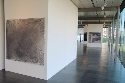 Silke Otto-Knapp, Installationsansicht in der Kunsthalle Wien Karlsplatz 2014.