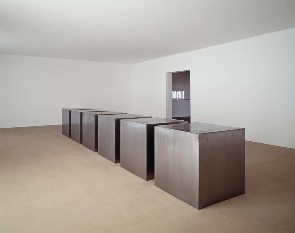 Donald Judd, Untitled, 1969, Ankauf 1975, Kunstmuseum Basel, Foto: Stefano Graziani, Kunstmuseum Basel, Foto: Stefano Graziani.