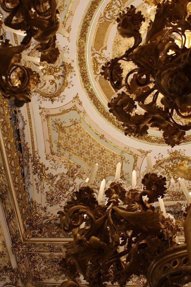 Decke, Tanzsaal, Stadtpalais des Fürsten von und zu Liechtenstein, Wien 1010, Foto: Alexandra Matzner.
