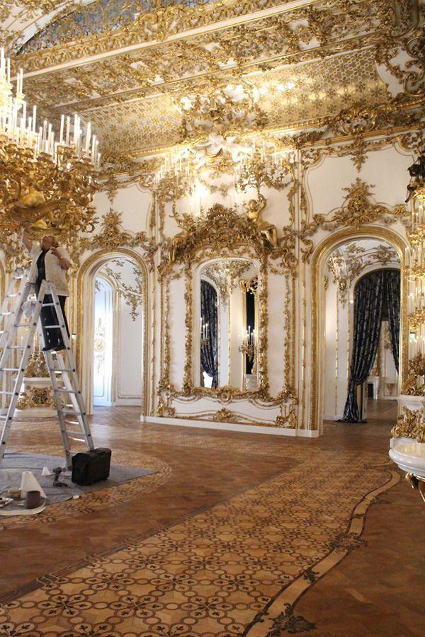 Einblick in den Tanzsaal, Stadtpalais des Fürsten von und zu Liechtenstein, Wien 1010, Foto: Alexandra Matzner.