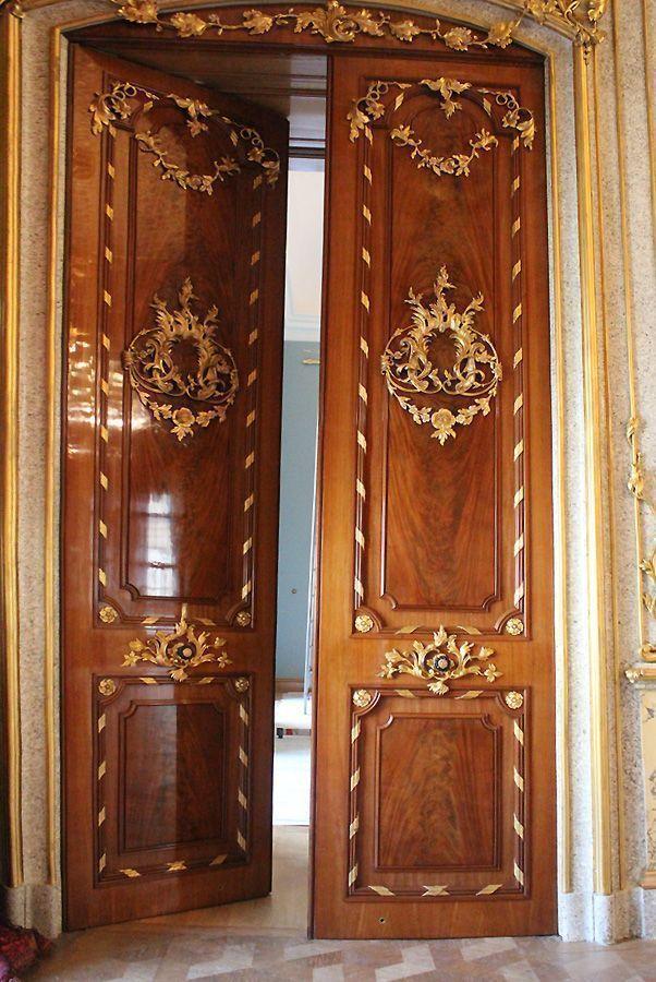 Tür im Speisezimmer, Stadtpalais des Fürsten von und zu Liechtenstein, Wien 1010, Foto: Alexandra Matzner.