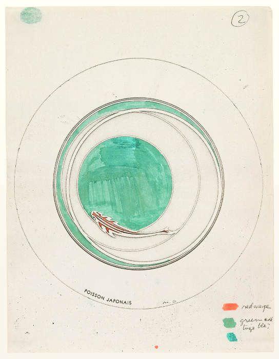 Sturtevant, Duchamp Rotary Disc (Poisson Japonais), 1969, Collection Mark Kelman, New York.