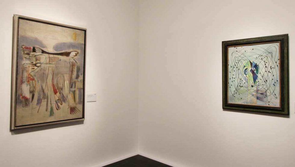 Mark Rothko – Max Ernst aus der Sammlung Pietzsch, Berlin, Ausstellungsansicht Hamburger Kunsthalle 2016, Foto: Alexandra Matzner.