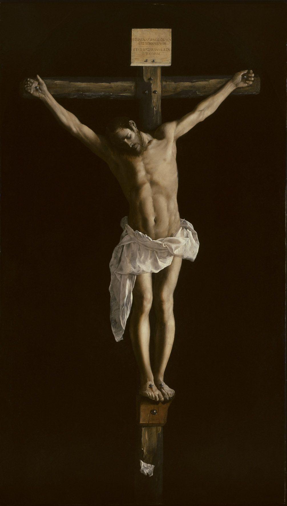 Francisco de Zurbarán (1598–1664), Die Kreuzigung, 1627 © The Art Institute of Chicago. Robert A. Waller Memorial Fund (1954.15).
