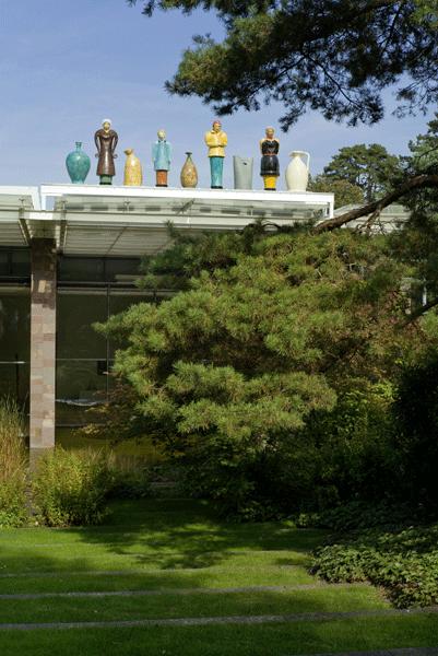 Thomas Schütte in der Fondation Beyeler, Foto: Alexandra Matzner.