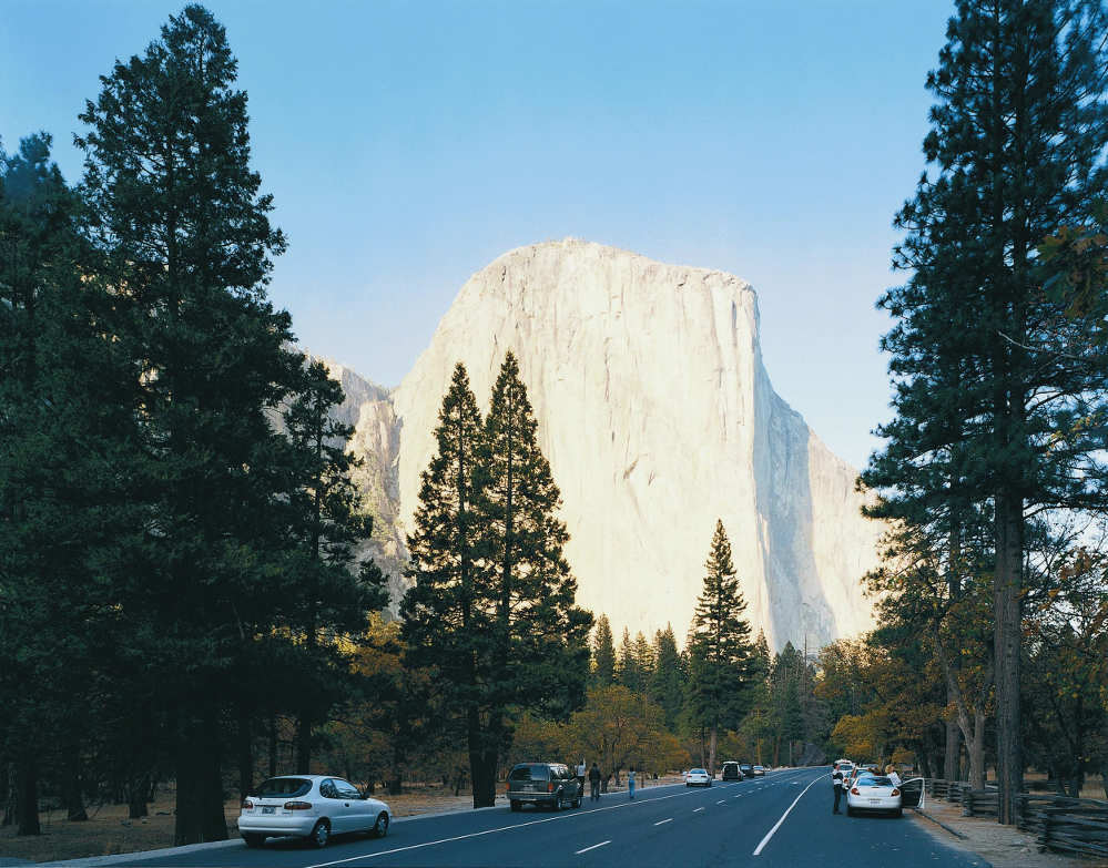 Thomas Struth, El Capitan, Yosemite National Park, 1999, C-Print, 176,5 x 223 cm, Atelier Thomas Struth © Thomas Struth