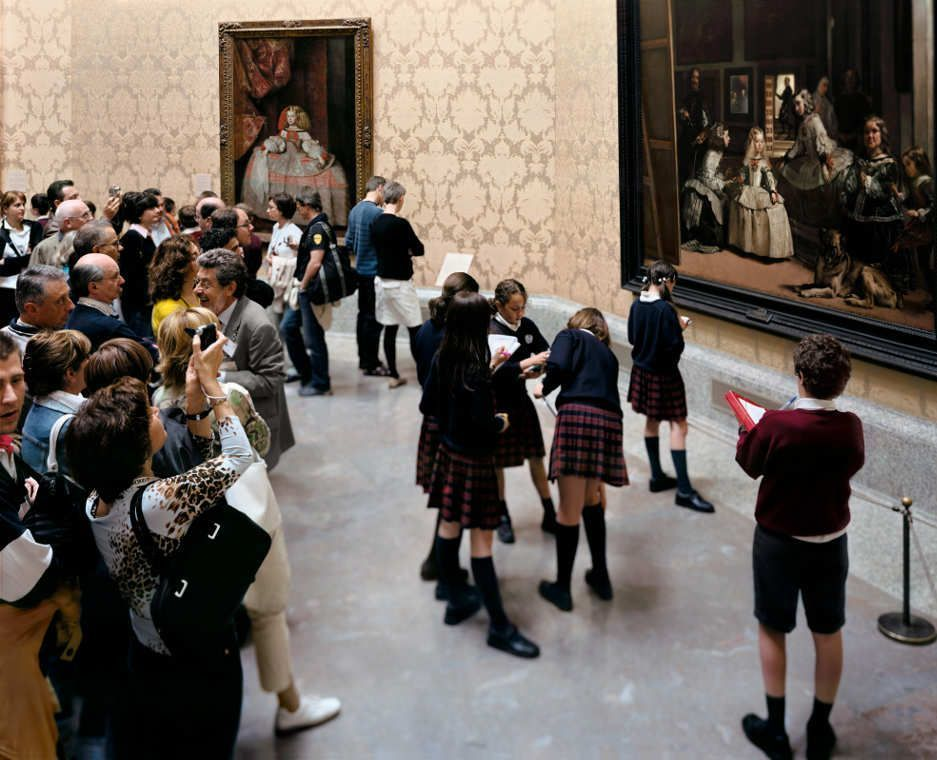 Thomas Struth, Museo del Prado 7, Madrid 2005, C-Print, 177,5 x 218,6 cm, Atelier Thomas Struth © Thomas Struth