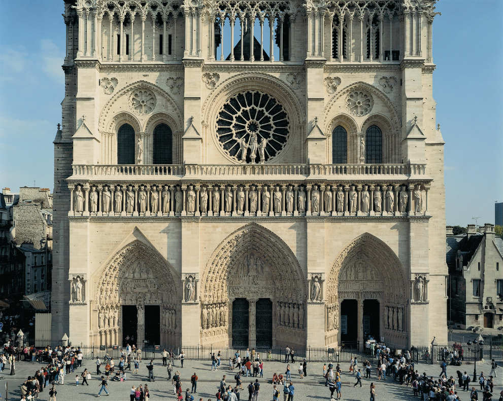 Thomas Struth, Notre-Dame, Paris, 2001, C-Print, 181 x 224,5 cm © Thomas Struth