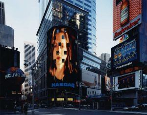 Thomas Struth, Times Square, New York, 2000, C-Print, 178,2 x 212,2 cm © Thomas Struth