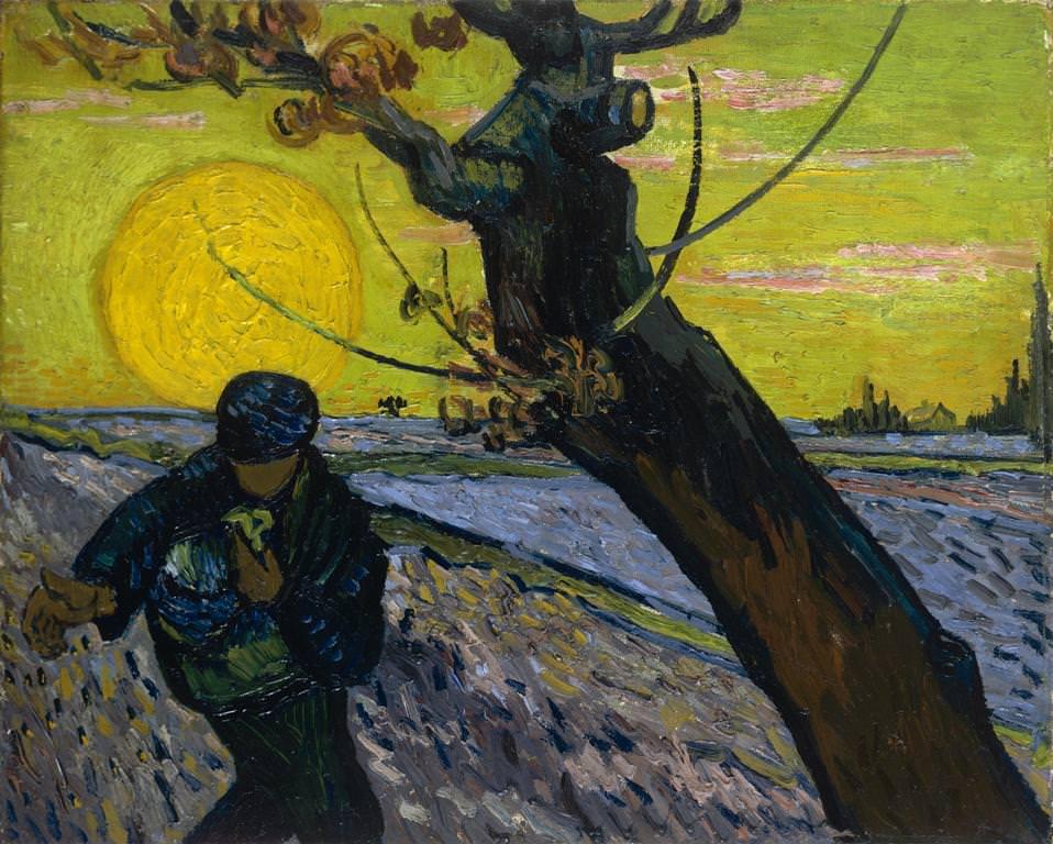 Vincent van Gogh, Der Sämann, ca. 25. November 1888, Öl auf Leinwand, 32 x 40 cm (Van Gogh Museum, Amsterdam (Vincent van Gogh Stiftung))