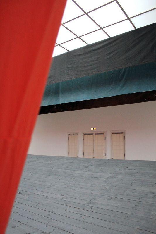 Ulla von Brandenburg, Innen ist nicht Außen, Detail, Installationsansicht Wiener Secession 2013, Foto: Alexandra Matzner.