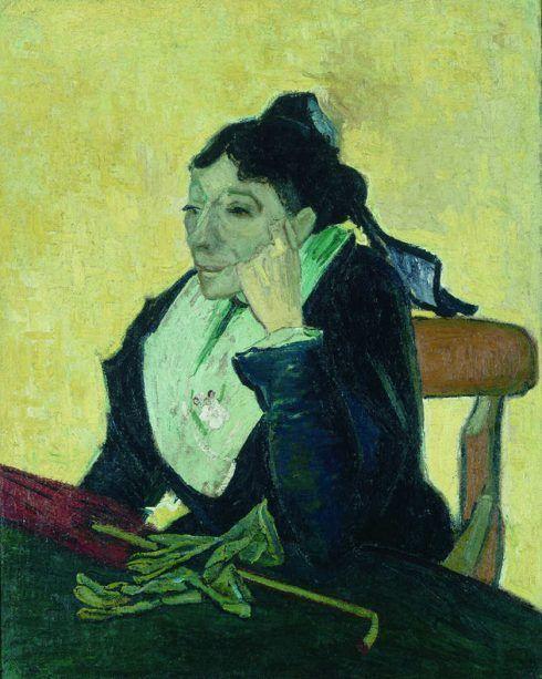 Vincent van Gogh, L Arlésienne (Madame Ginoux), ca. 5. November 1888, Öl auf Jute, 93 x 74 cm (Musée d'Orsay, Paris)
