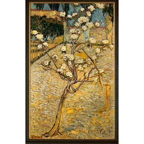 Vincent van Gogh, Birnenbaum in Blüte, April 1888, Öl auf Leinwand, 73 x 46 cm (Van Gogh Museum, Amsterdam (Vincent van Gogh Stiftung))