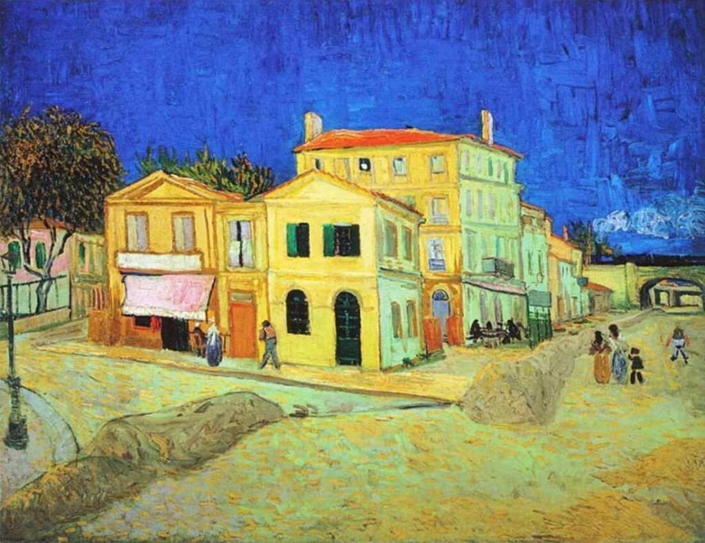 van Gogh, Das Gelbe Haus, 28. September 1888, Öl auf Leinwand (Van ...