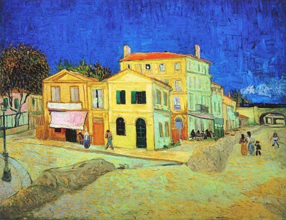 Vincent van Gogh, Das Gelbe Haus, 28. September 1888, Öl auf Leinwand (Van Gogh Museum, Amsterdam (Vincent van Gogh Stiftung))