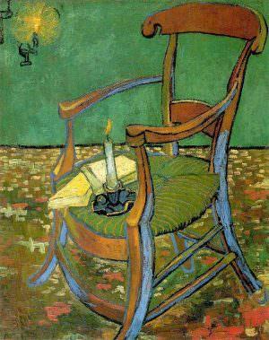 Vincent van Gogh, Gauguins Stuhl, ca. 20. November 1888, Öl auf Jute, 90,5 x 72 cm (Van Gogh Museum, Amsterdam (Vincent van Gogh Stiftung))