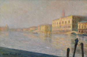 Claude Monet (1840–1926), Der Palazzo Ducale (Le Palais ducal), 1908, Öl auf Leinwand, 60,3 x 91,5 cm (Privatsammlung)