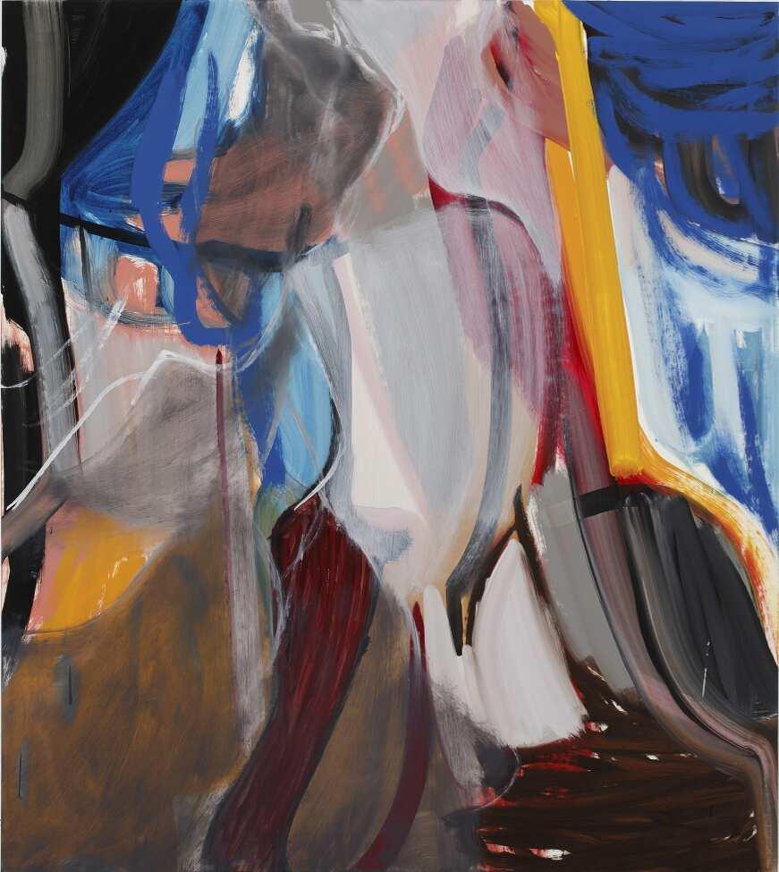 Liliane Tomasko, No Thing, 2015, Öl auf Leinwand, 142,2 x 127 cm © Courtesy bechter kastowsky galerie, Wien
