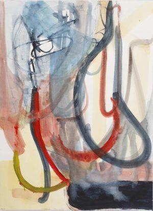 Liliane Tomasko, pty,x, 2015, Aquarell auf Papier, 61 x 45,7 cm © Courtesy bechter kastowsky galerie, Wien