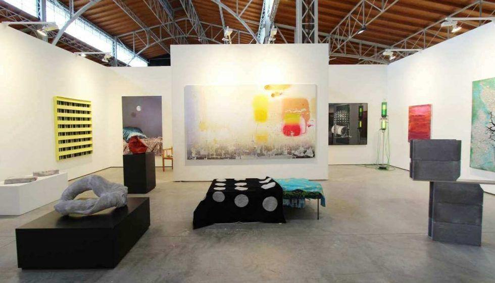 Galerie Elisabeth & Klaus Thoman, viennacontemporary 2016, Foto: Alexandra Matzner.