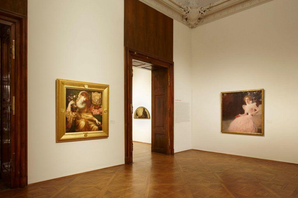 Schlafende Schönheit. Meisterwerke viktorianischer Malerei aus dem Museo de Arte de Ponce, 2010, Ausstellungsansicht, Foto: Eva Würdinger.