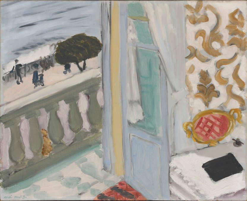 Henri Matisse, Nizza, das schwarze Heft, 1918, Öl auf Leinwand, 33 x 40,7 cm (Hahnloser/Jaeggli Stiftung, Winterthur, Schenkung Verena Steiner-Jäggli, 2011)