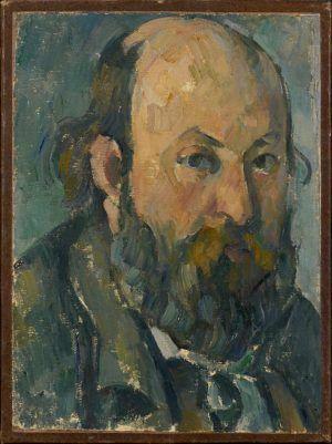 Paul Cézanne, Selbstbildnis, 1877/78, Öl auf Leinwand, 25,5 x 19 cm (Hahnloser/Jaeggli Stiftung, Winterthur, Schenkung Elisabeth Lasserre-Jäggli, 1983)